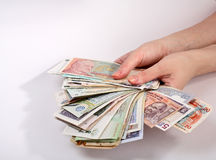 Finance internationale Image stock