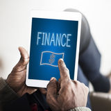 Finance Investment Money Cash Icons Graphics Concept Royalty Free Stock Images