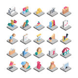 Finance Isometric Vector Icons. Here is a useful and trendy very awesome Isometric Finance icon pack. Hope you can find a great use for them in finance, money Royalty Free Stock Photo