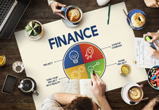 Finance Joint Planning Balance Banking Budget Concept stock photo