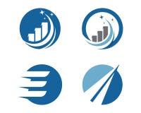 Finance logo Royalty Free Stock Photos