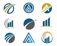 Finance logo. Success and other company stock photography