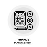 Finance Management Line Icon. Finance Management icon vector. Flat icon  on the white background. Editable EPS file. Vector illustration Stock Photos