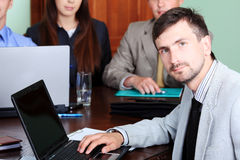Finance manager Stock Image