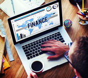 Finance Marketing Business Banking Concept royalty free stock images