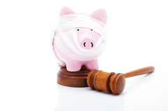 Finance medical law Stock Photography
