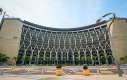 Finance Ministry Building in Putrajaya, Malaysia.  Stock Images