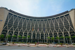 Finance Ministry Building in Putrajaya, Malaysia Royalty Free Stock Images