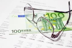 Euro crisis impact on business Royalty Free Stock Photography