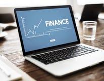 Finance Money Analysis Graph Concept Stock Image