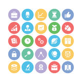 Finance and Money Colored Vector Icons 1 Stock Photography