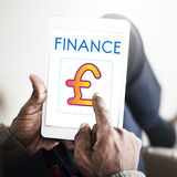 Finance Money Currency Cash Concept Stock Photography
