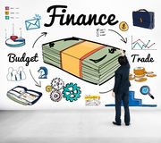 Finance Money Debt Expenditure Trade Concept Royalty Free Stock Photo