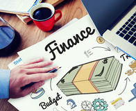 Finance Money Debt Expenditure Trade Concept Royalty Free Stock Images