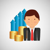 Finance money economy dollar business Royalty Free Stock Image
