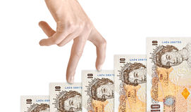 Finance Money Graph Royalty Free Stock Photography