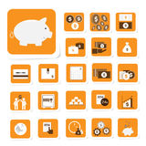 Finance and money icon Royalty Free Stock Photos