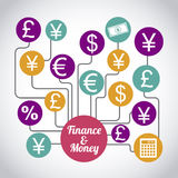 Finance and money Royalty Free Stock Photography