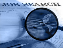 Searching job stock photo