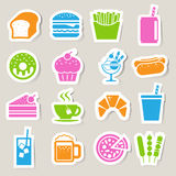 Finance and money  sticker icon set. Illustration eps10 Royalty Free Stock Photography