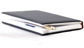 Finance notepad Royalty Free Stock Images