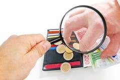 Finance observation Stock Image