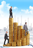 Finance people Royalty Free Stock Photos