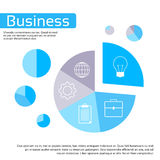 Finance Pie Diagram Circle Infographic. With Financial Business Graph Chart Icon Set Vector Illustration Stock Photography
