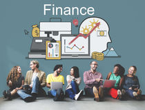 Finance Profit Funding Investment Assets Concept Royalty Free Stock Photo