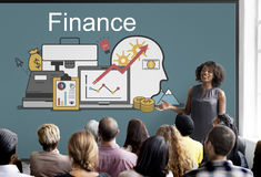 Finance Profit Funding Investment Assets Concept Royalty Free Stock Photos