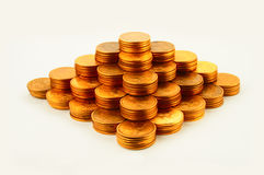 Finance pyramid Royalty Free Stock Photography
