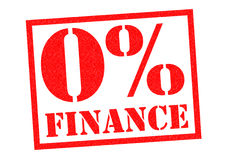 0% FINANCE Royalty Free Stock Photography