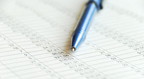 Finance report Royalty Free Stock Images