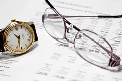 Finance Time and Money Stock Images