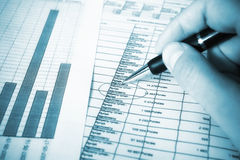 Finance series Stock Photos