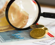 Finance series Royalty Free Stock Photos