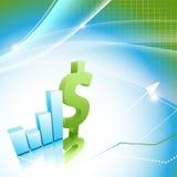 Finance statistic vector frame. Eps10. Modern finance statistic vector frame with bar graphs. Eps10 Royalty Free Stock Image