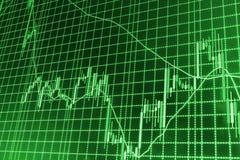 Finance stock exchange background Stock Images