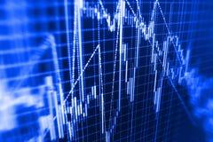Finance stock exchange background Stock Photo