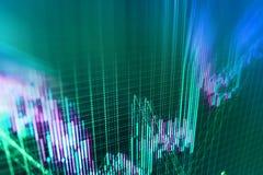 Finance stock exchange background Stock Photos