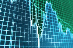 Finance stock exchange background Royalty Free Stock Photos