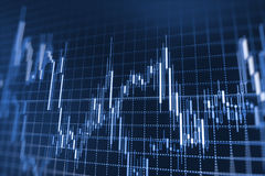 Finance stock exchange background Royalty Free Stock Image