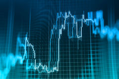 Finance stock exchange background. Stock market quotes graph chart Royalty Free Stock Image
