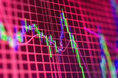 Finance stock exchange background Royalty Free Stock Images
