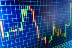 Finance stock exchange background. Stock market quotes graph chart royalty free illustration