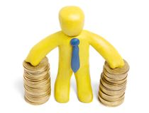 Finance success Stock Images