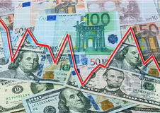 Finance system concept Stock Photos