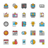 Finance Vector Icons 4. Here is a set of Finance Vector Icons that is great for finance, money, banking, statistics visuals, payments and transactions Stock Photo