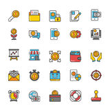 Finance Vector Icons 5. Here is a set of Finance Vector Icons that is great for finance, money, banking, statistics visuals, payments and transactions Royalty Free Stock Photography