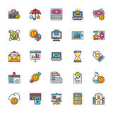 Finance Vector Icons 4 Royalty Free Stock Photography